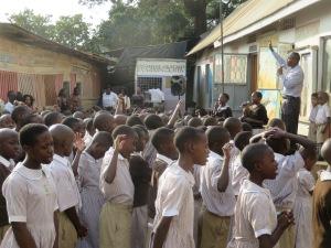 Students of St. Mbuga School