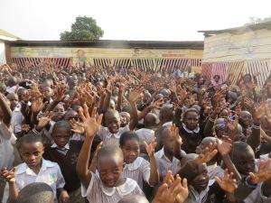 St. Mbuga School Greeting