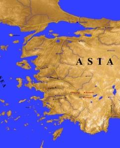 Asia Minor MODERN Map